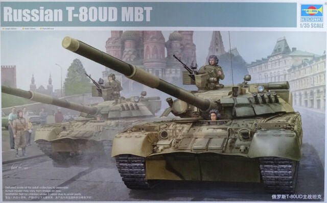 TRUMPETER® 09527 Russian T-80UD MBT in 1:35