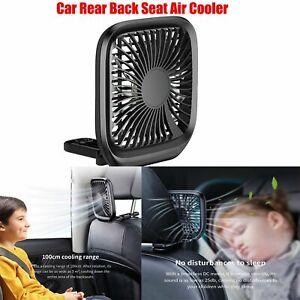 Mini-Car-Auto-Back-Rear-Seat-Headrest-Air-Fan-Cooler-Fan-Adjustable-Speed-CCG