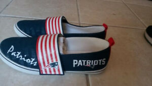 f6efd66e Details about NFL OFFICIAL LICENSED New England Patriots Shoe Women Size 7  8 BRADFORD EXCHANGE