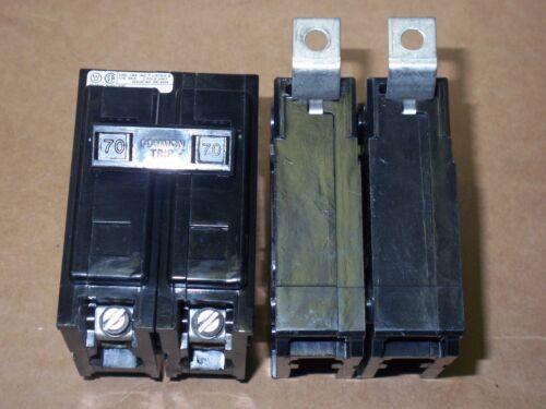 Westinghouse BA bab2070 ba270 70 amp 120/240v 2 pole Circuit Breaker BAB