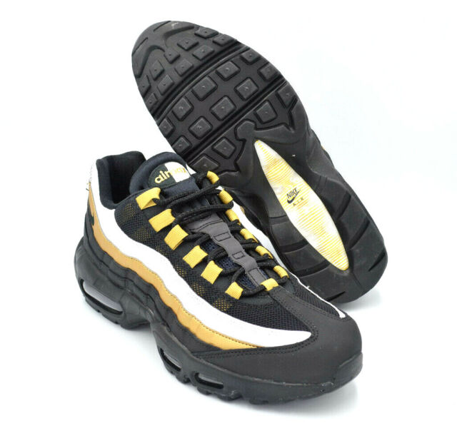 Nike Air Max 95 OG At2865 002 Black Metallic Gold Size Mens