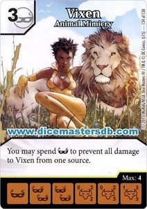 Vixen-Animal-Mimicry-134-Justice-League-DC-Dice-Masters
