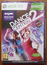Dance Central 2 (requiere sensor Kinect) Xbox 360, Pal-España ¡NUEVO A ESTRENAR!