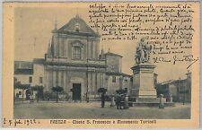 CARTOLINA d'Epoca - RAVENNA provincia : Faenza 1922