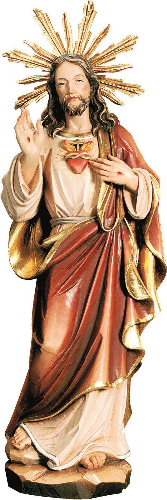 Statue Heiligen Herz von Jesus mit mit mit Sunburst - sacrot heart of Jesus with Halo | Komfort  5c0ca3
