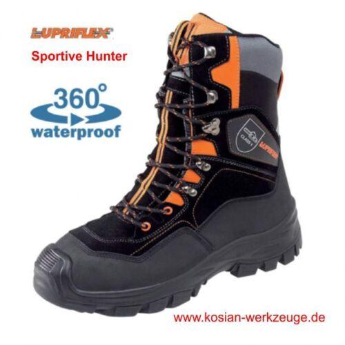 Forst-PSA Lupriflex Schnittschutzstiefel Sportive Hunter S3 Forststiefel