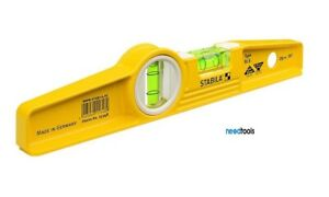 LEVEL-Stabilla-250mm-25cm-10-034-2-Vial-Type-81SM-Magnetic-Level