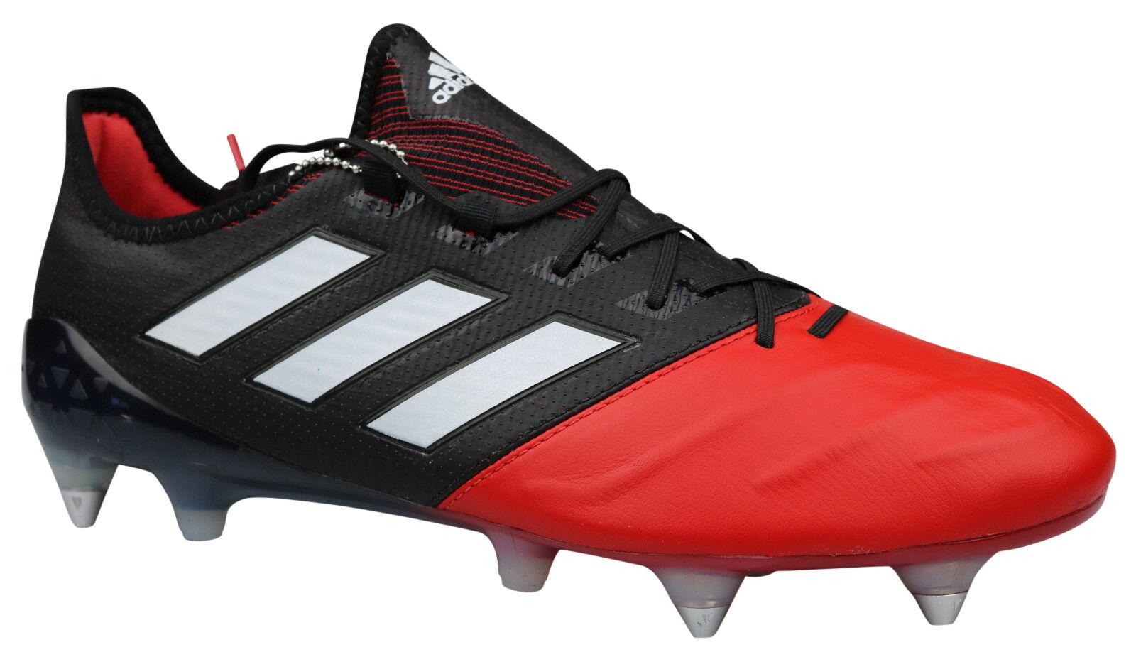Adidas ACE 17.1 SG Fußballschuhe Leder Leder Leder Stollen schwarz BA9191 Gr 39 - 48 2 3 NEU fc82c6