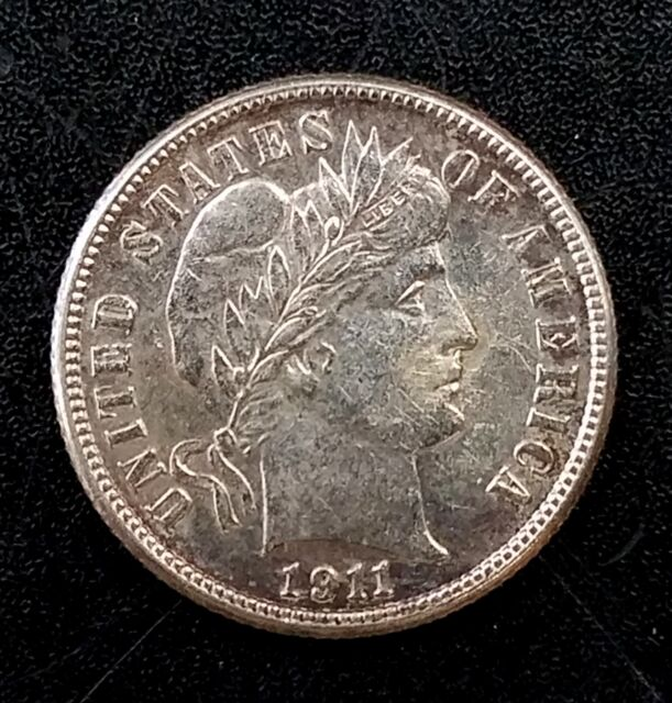 1911 S Barber Dime! A great addition to your collection!