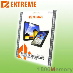 Extreme-Screen-Protector-Guard-2Pack-for-HTC-7-Mozart-Clear-Film-Anti-Glare-UV