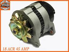 18 ACR 45 Amp Nuevo Completo Alternador Con Polea Y Ventilador