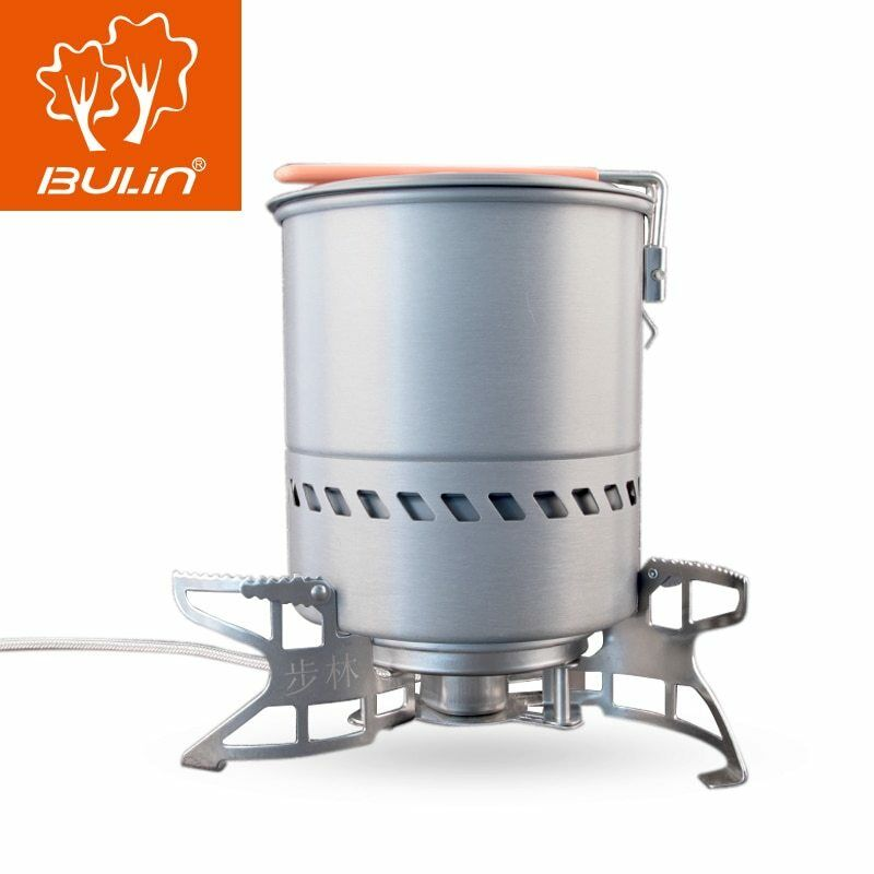 Bulin 1.5L Portable  Outdoor Fast-Heating Pot Utensil Camping Traveling  a lot of surprises