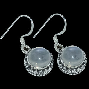 Rainbow-Moonstone-Gemstone-925-Solid-Sterling-Silver-Jewelry-Earring-1-02-034