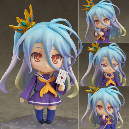 Anime Nendoroid Figure Jouets No Game No Life Shiro Figurine 10cm