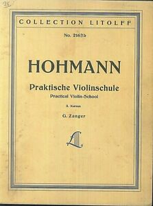 HOHMANN-Praktische-Violinschule
