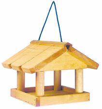 MINI HANGING BIRD TABLE Gardman Wood Small Garden   FREE Fast Delivery!