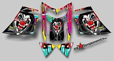 SKI-DOO REV MXZ SNOWMOBILE SLED WRAP GRAPHIC STICKER DECAL 03-07 Joker Graffiti