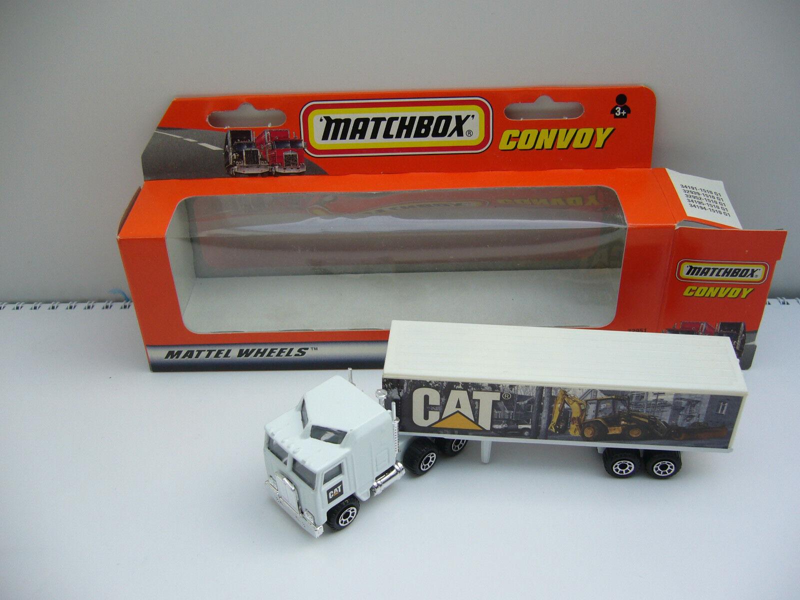 Matchbox Convoy- Kenworth - CAT  -OVP   Box