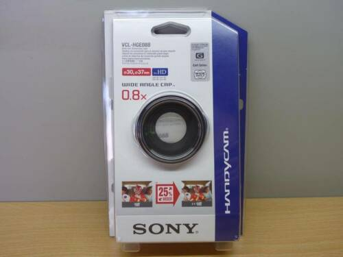 New Sony VCLHGE08B Wide End Conversion Lens for Handycam