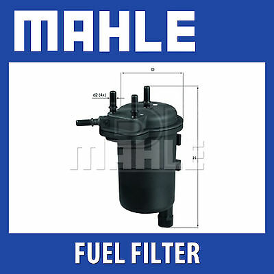 Genuine Part Fits Vauxhall Corsa 1.3CDTI Mahle Fuel Filter KL568