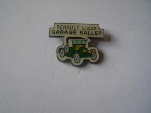 Pins Renault Lucon Garage Rallet Ebay