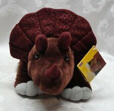 "New DINOSAUR Triceratops Shield PLUSH Kohls Cares for Kids 14"" Stuffed Animals"