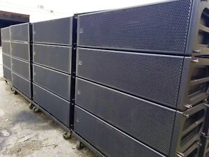 MEYER-SOUND-MILO-90-LINE-ARRAY-SPEAKERS-COMES-WITH-DOLLIES-amp-COVERS-LOT-OF-24
