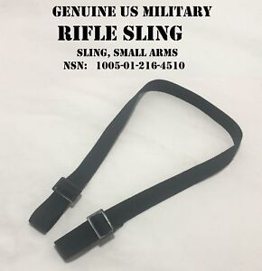US-MILITARY-ISSUE-2-POINT-UNIVERSAL-WEAPON-RIFLE-SILENT-SMALL-ARMS-SLING-USGI
