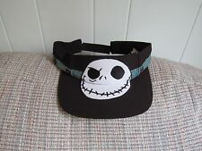 NWT Disney Parks JACK SKELLINGTON Nightmare Christmas Sun Visor Adult Size
