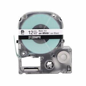 Epson-212BWPX-Black-on-White-PX-Label-Tape-1-2-034-Ksun