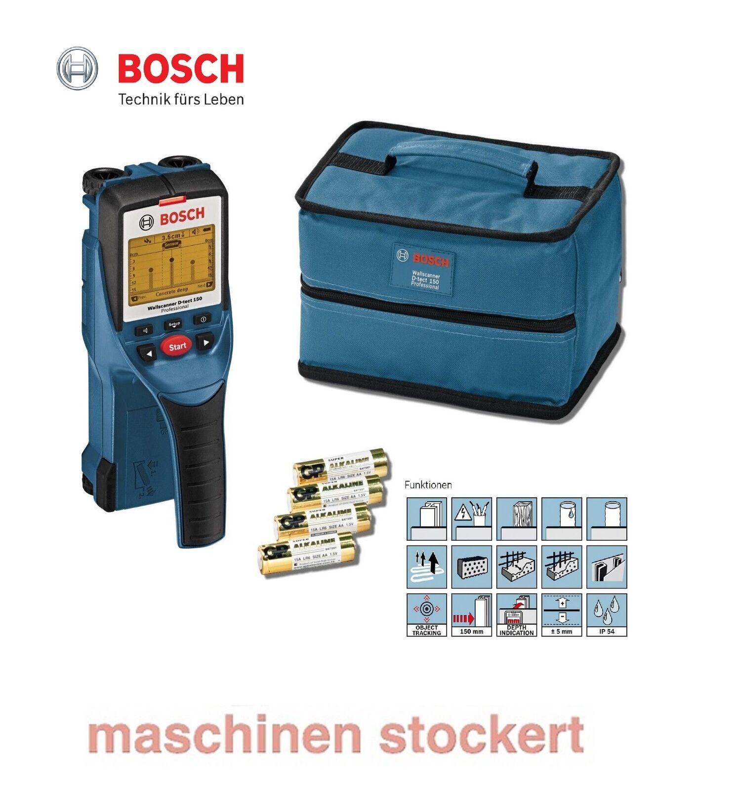 Bosch  Ortungsgerät Wallscanner D-tect 150 0601010005