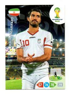 Panini-FIFA-Coppa-Del-Mondo-2014-Brazil-Karim-ANSARIFARD-Iran