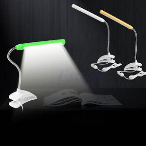 usb clip on 13 led light clamp bed table study desk. Black Bedroom Furniture Sets. Home Design Ideas