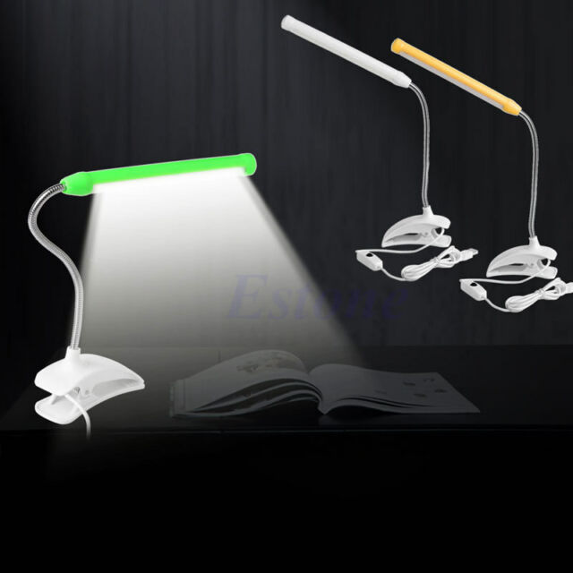 Useful Usb Clip-on 13 Led Light Clamp Bed Table Study Desk Reading Lamp Adjustable New Lights & Lighting