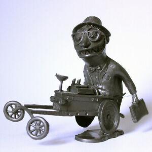 Nutty-Mads-DADDY-RACER-WEIRD-OH-039-S-Louis-Marx-Hawk-DARK-GRAY-Mexican-HOT-ROD