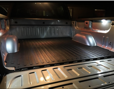 2018-2007 GMC SIERRA 1500 Truck Cargo Bed Mat Rubber Liner Protector