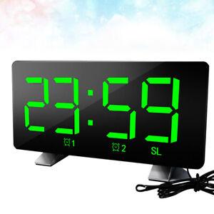 Home-Modern-USB-Charging-Digital-LED-Desk-Alarm-Clock-Timer-For-Bedroom-Decor