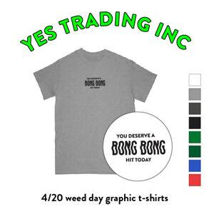 9d15d2c8 BONG BONG WEED GRAPHIC T SHIRT MARIJUANA SHIRTS CANNABIS TEE 420 POT ...