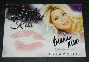 Benchwarmer Trading Card Singles Playboy Benchwarmer Brandie Moses Playmate Dreamgirls Autograph Card