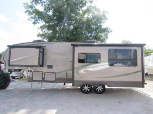 used 2012 evergreen ever lite rear kitchen 5th wheel camper travel rh ebay com