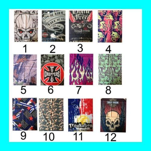 Bandana Scarf Neck Sock fishing motorcycle cycling Hunting Costume party