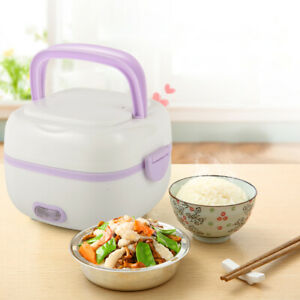 1L-Stainless-steel-Electric-Lunch-Box-Mini-Rice-Cooker-Portable-Food-Steamer200W