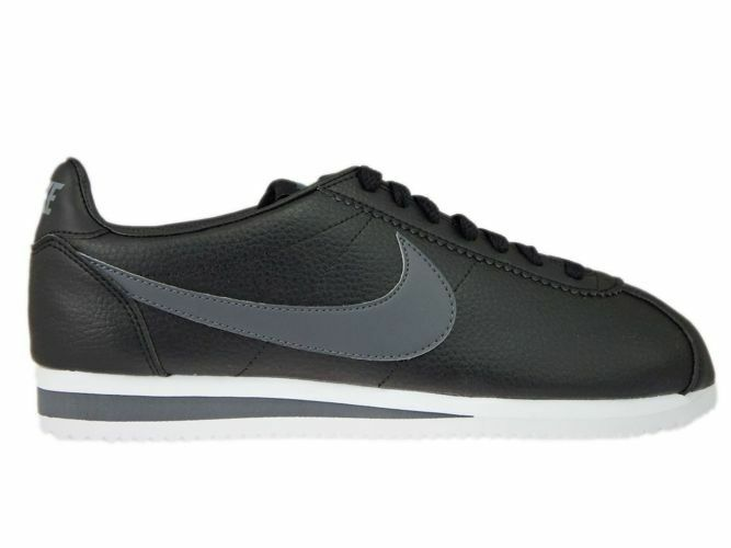 NIKE CLASSIC CORTEZ LEATHER, Hommes SIZES7 - 11, 749571-011, BNWB