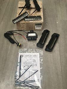 Adroit Kit Installation Feu De Jour Philips Pour Dacia Duster /drl Dacia Duster