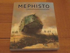 Australian-Mephisto-Technology-War-Remembrance-World-039-s-Rarest-Tank-WW1-Book