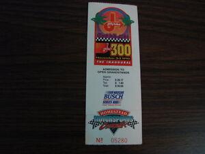 Homestead-Motorsports-Jiffy-Lube-300-Inaugural-Race-Ticket-Stub-11-5-95
