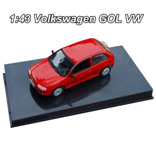1:43 ORIGINAL Volkswagen GOL VW Red Diecast Model Car Collection Toy New InBox