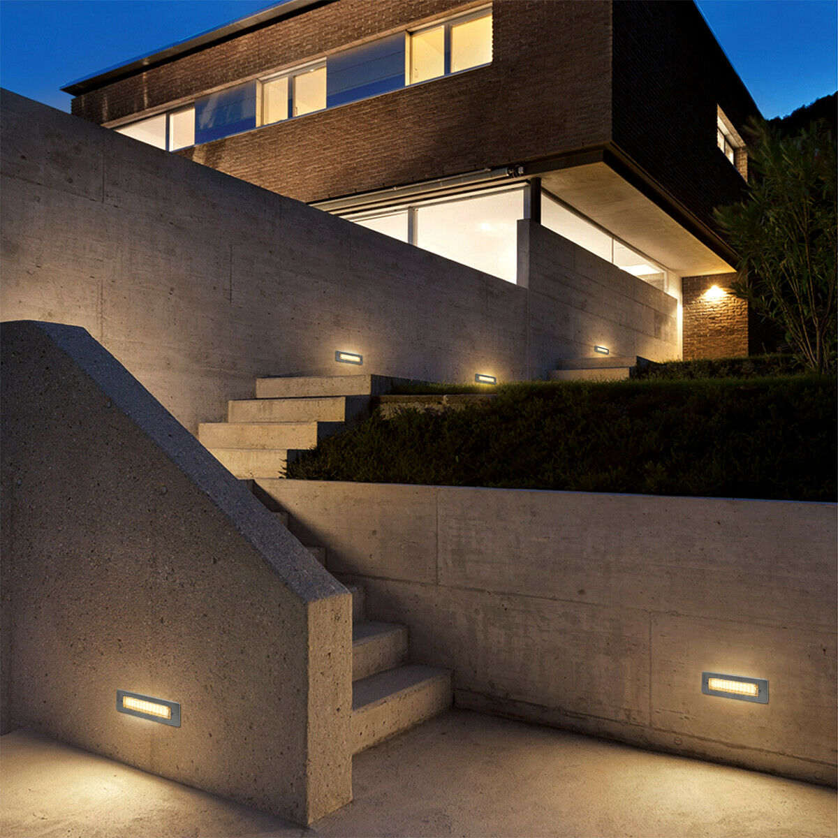 Recessed Light Floor Garden Terrace outside Inside Recessed Light IP65 Outside