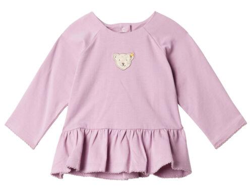 STEIFF® Baby Mädchen Langarmshirt Shirt Bär Lila Gr 68-86 H//W 2019-20 NEU!