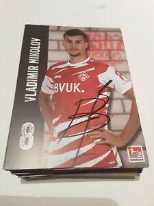 Signierte AK Vladimir Nikolov Würzburger Kickers NEU